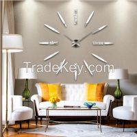 Decorative home wall sticker clock