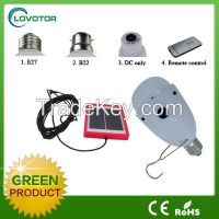 Solar light LED bulb light Solar power DC AC use with 1W  solar panel