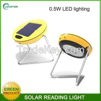 Solar desk light LED reading light