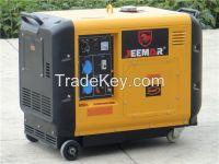 5KVA super silent generator 66dB/7m