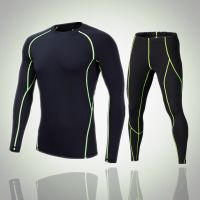 Men's Compression Under Base Layer Sets SkinTight sports Fitness  sets quick dry