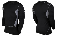 Men's Compression Under Base Layer Top Tight long sleeve sports T-shirt quick dry T