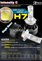 High Power Car LED Headlight Conversion Kit H7
