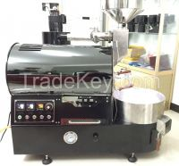 Industrial foodstuff processing automatic 1kg 2kg coffee bean rosting baking machine