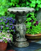 Cherub Birdbath by Campania International
