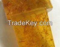 SAFFRON and honey glycerine base soap