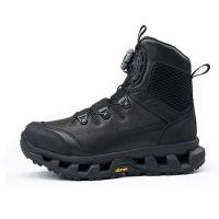 Hanagal high quality military boot tactical Genuine leather shoes men