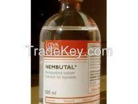 Nembutal Sodium Pantobarbital Liquid, Powder & Capsules