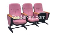 Auditorium chair with writing tablet
