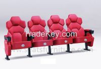 cinema seats with cup holder