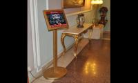 Information touch screen kiosk