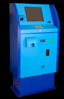 Self-checkout terminal with bank options PT-6