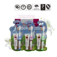 Professional OEM manufacture natural fluoride free herbal kids teeth whitening toothpaste