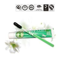 FDA aproved priviate logo customize package bamboo charcoal all natural black gel toothpaste