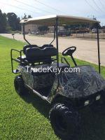 Ez-Go Golf Cart Camo body 4 seater electric