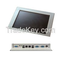 10 inch in-vehicle panel pc with resistive touch screen and intel Atom N2600 cpu industrial tpuch panel pc Linux