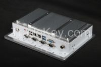 10 inch industrial touch screen panel pc with fanless design and low power consumption