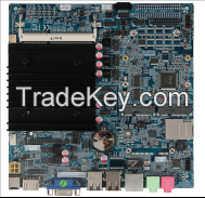 industrial mini ITX motherboard with Bay Trail J1900 quad core cpu
