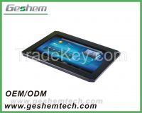 Car pc 10.1'' android capacitive touch screen panel pc with USB, RS232