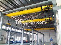 China Widely Used Electric Indoor Single Girder Beam Bridge Overhead Crane 5 Ton