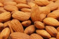 Sweet Almonds nuts and cashew nuts in bulk