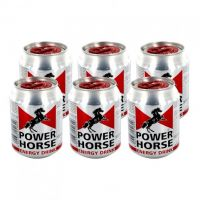 POWER HORSE ENERGY DRINK CAN 6 X 250 ML
