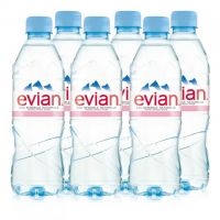 EVIAN NATURAL MINERAL WATER 6X1.250 LTR