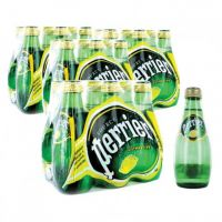 WHOLESALE - PERRIER MINERAL WATER NATURAL LEMON 200 ML (4 X 6 PIECES)