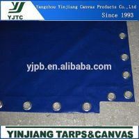 pvc coated tarpaulin open top container cover