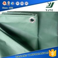 pvc coated waterproof canvas tarpaulin