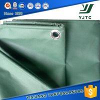 pvc coated waterproof canvas tarpaulin