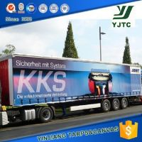 customized pvc truck side curtain tarpaulin