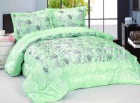 Taffeta flocking comforter set 3pc