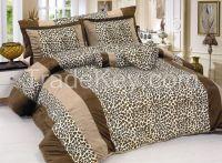Animal design short velvet comforter set