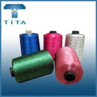 180-600TPM dope dyed filament thread for knitting, weaving, sewing