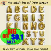 Cheap Inflatable Letter Foil Balloon Wholesale For Party Decoration