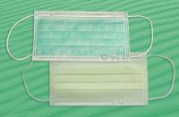 Disposable Nonwoven 3-ply Surgical Medical Face Mask with Ties or Earloop