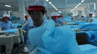 nonwoven disposable operation surgical gown