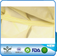 High quality isolation gown with elastic cuff with  price