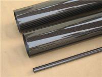 3k plain weave glossy carbon fiber tubes