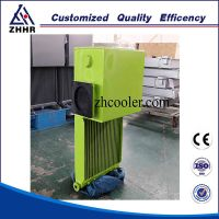oil cooler for concrete mixing truck