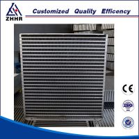 heat exchanger oilcooler aluminum core