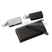 100% Real Carbon Fiber Wallet with Genuine Leather