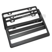 Factory Hot Sales Carbon Fiber Composite Decorative License Plate Frames