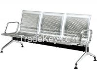 Stainless steel waiting chair, airport chair, stainless steel stainles