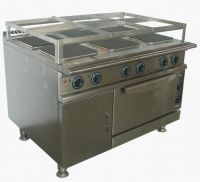 Marine electric cooker with oven