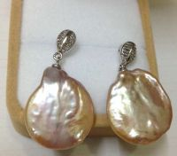 Chinese Cultured pearls Earring