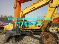 Sale of used Komatsu 200-6 crawler hydraulic excavator