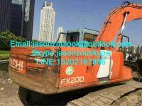 Supply Used Hitachi EX200-3 crawler excavator