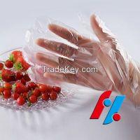 HDPE Glove plastic disposable FDA